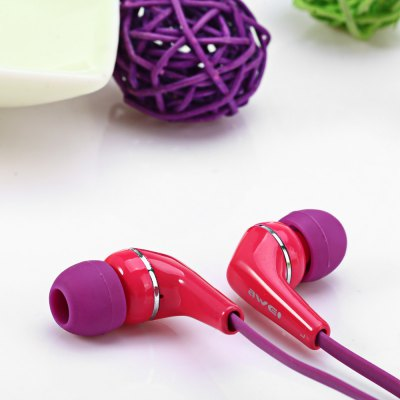Фотография Awei ES  -  Q7i 1.2m Cable In - ear Earphone with Mic for Smartphone Tablet PC