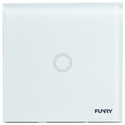 FUNRY Home Touch Switch 1 Gang One - way Intelligent Control Switch  -  UK Standard