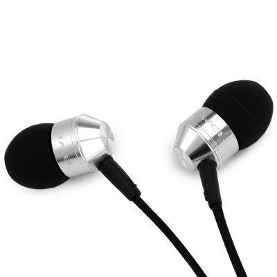 Фотография Awei K90i 1.2m Fiber Nylon Cable In - ear Earphone with Mic for Smartphone Tablet PC