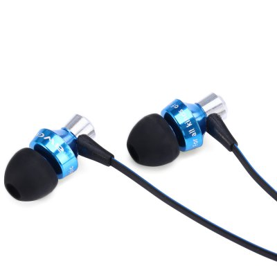 Фотография Awei S950vi 1.2m Flat Cable Design In - ear Earphone with Volume Control Mic for Android Mobile Phone with CTIA Standard