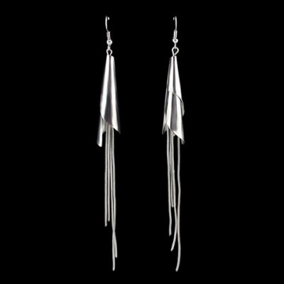 Pair of Simple Tassels Earrings For Women