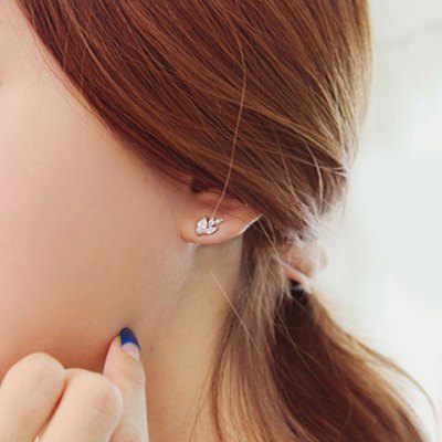 Pair of Chic Rhinestone Leaf Asymmetric Earrings For WomenEarrings<br>Pair of Chic Rhinestone Leaf Asymmetric Earrings For Women<br><br>Earring Type: Drop Earrings<br>Gender: For Women<br>Material: Rhinestone<br>Metal Type: Alloy<br>Style: Trendy<br>Shape/Pattern: Plant<br>Weight: 0.053KG<br>Package Contents: 1 x Earring(Pair)