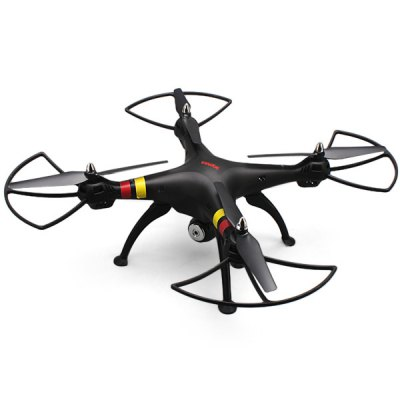 ФОТО Newest Syma X8C Venture New Package 4 Channel 2.4G RC Quadcopter with HD Camera 6 Axis 3D Flip Fly UFO - EU Plug