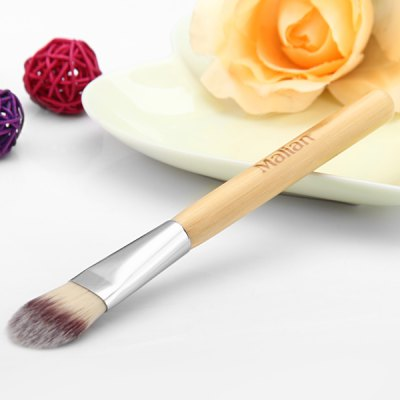 Make-up Facial Mask Brush with Wooden Handle