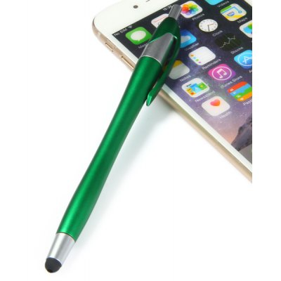 Portable 2 in 1 Touch Screen Stylus Pen with Ball - pen Design