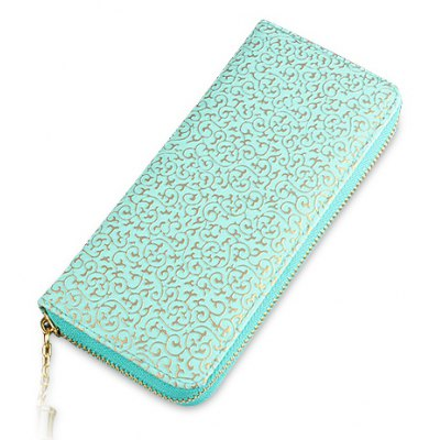Graceful Tassels and Embossing Design Women's Wallet