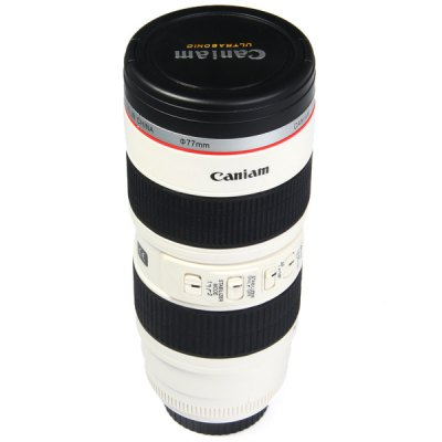 Caniam 2 in 1 Camera Lens Cup Mug Cups with EF 70 - 200mm F/2.8L IS USM
