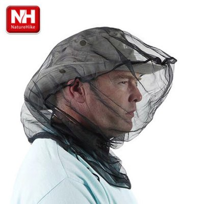 NatureHike Prevent Bee Sting Head Net Anti - mosquito Hat for Camping Hiking Cycling
