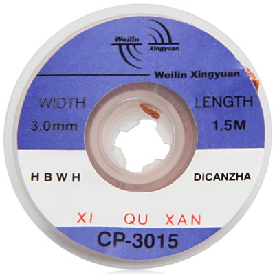 WLXY CP  -  3015 Tin Absorption Band / Line Width 3.0mm