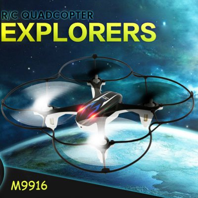 MOONTOP MT 9916 2.4G 4CH RC Quadcopter 6 Axis Gyro 3D Flip Fly UFO with 30W Camera