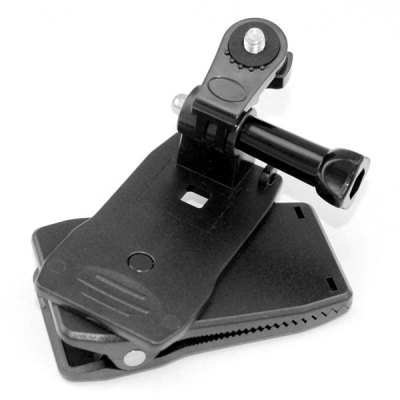 360 Degrees Rotatable Bag Clip Mount with Screw