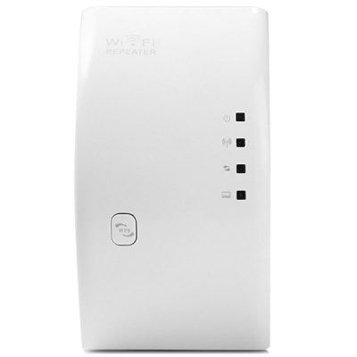 WR01 2.4GHz 300Mbps Wireless Repeater Router WiFi Signal Extender