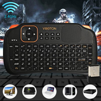 Viboton S1 2.4G Mini Wireless Keyboard / Fly Mouse / Remote Control / Touchpad