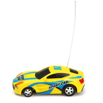 Fengqi Toys Mini 27MHz RC Racer Car Model Toy with Light