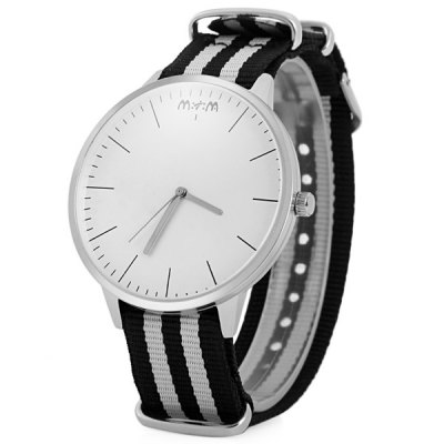 Mitina 231 Unisex Japan Quartz Watch with Canvas Band Big Round DialUnisex Watches<br>Mitina 231 Unisex Japan Quartz Watch with Canvas Band Big Round Dial<br><br>Brand: Mitina<br>People: Unisex table<br>Watch style: Casual<br>Style elements: Big dial<br>Shape of the dial: Round<br>Movement type: Quartz watch<br>Display type: Analog<br>Case material: Stainless Steel<br>Band material: Canvas<br>Clasp type: Pin buckle<br>The dial thickness: 0.8 cm / 0.31 inches<br>The dial diameter: 4.5 cm / 1.77 inches<br>The band width: 2.0 cm / 0.79 inches<br>Product weight: 0.050 kg<br>Package weight: 0.100 kg<br>Product size (L x W x H): 27.00 x 4.50 x 0.80 cm / 10.63 x 1.77 x 0.31 inches<br>Package size (L x W x H): 28.00 x 5.50 x 1.80 cm / 11.02 x 2.17 x 0.71 inches<br>Package Contents: 1 x Mitina Watch