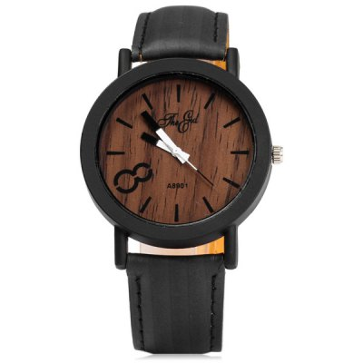 A8901 Unique Wood Grain Wristwatch Big 8 Unisex Quartz WatchUnisex Watches<br>A8901 Unique Wood Grain Wristwatch Big 8 Unisex Quartz Watch<br><br>People: Unisex table<br>Watch style: Casual<br>Shape of the dial: Round<br>Movement type: Quartz watch<br>Display type: Analog<br>Case material: Alloys<br>Band material: Leather<br>Clasp type: Pin buckle<br>The dial thickness: 0.7 cm / 0.28 inches<br>The dial diameter: 4.0 cm / 1.57 inches<br>The band width: 1.8 cm / 0.71 inches<br>Product weight: 0.028 kg<br>Package weight: 0.078 kg<br>Product size (L x W x H): 24.00 x 4.00 x 0.70 cm / 9.45 x 1.57 x 0.28 inches<br>Package size (L x W x H): 25.00 x 5.00 x 1.70 cm / 9.84 x 1.97 x 0.67 inches<br>Package Contents: 1 x A8901 Wood Grain Watch