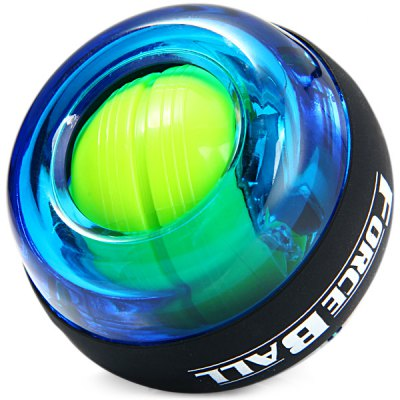 SPT  -  ALC Colorful LED Power Force Ball Wrist Arm Strengthener with CounterExercise Machines<br>SPT  -  ALC Colorful LED Power Force Ball Wrist Arm Strengthener with Counter<br><br>Color: Red,Blue,Green,Yellow<br>Features: With 0.87 inches LCD,  LED lights<br>Gender: Unisex<br>LED Quantity: 2<br>Material: ABS,  PC,  Zinc alloy<br>Package Contents: 1 x Power Ball, 1 x Strap, 1 x Wristband, 1 x English User Manual<br>Package size (L x W x H): 10.00 x 8.00 x 8.00 cm / 3.94 x 3.15 x 3.15 inches<br>Package weight: 0.3300 kg<br>Power By: Built-in battey<br>Product size (L x W x H): 6.50 x 6.50 x 6.50 cm / 2.56 x 2.56 x 2.56 inches<br>Product weight: 0.2740 kg<br>Type: Wrist Ball