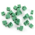 Plastic + Copper 2EDG - 3.81 - 2T Block Terminal Connectors - 10PCS
