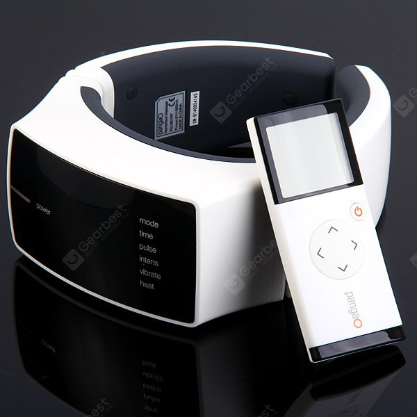 Pangao PG - 2601B7 Neck Therapy Instrument Electric Impulse Vibration Massaging Far - infrared Heating with Wireless Remote 125823101