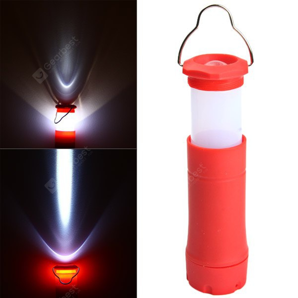 Practical 3 Modes Zooming LED Flashlight Mini Camping Lamp Telescopic Torch