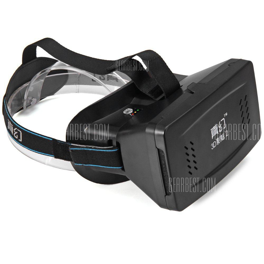 RITECH Virtual Reality 3D Glasses? with Elastic Band for 3.5 - 6 inch Smartphone 125542501