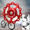 Buy Kactus CNC 11T Guide Roller Wheel Rear Derailleur Pulley Alluminum Alloy Bicycle Parts SHIMANO SRAM / 7 8 9 10 Speed RED