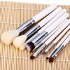 best 9pcs / Kit Specialized Beauty Cosmetic Brush with Arabesquitic Brush Holder for Professional Makeup