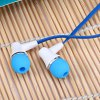 best Awei ES  -  300i 1.2m Flat Cable Design In - ear Earphone with Mic for Smartphone Tablet PC