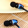 Awei S80vi 1.25m Cable Metal Rock In - ear Earphone with Mic Volume Control photo