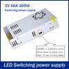 300W 60A DC 5V Switching Power Supply Transformer for LED Strip Light for sale