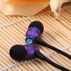 best Awei TE800i 1.2m Flat Cable Design In - ear Earphone with Mic for Android Mobile Phone