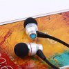 Awei TE800i 1.2m Flat Cable Design In - ear Earphone with Mic for Android Mobile Phone photo