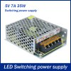 AC 85  -  264V to DC 5V 35W 7A Switching Power Supply for LED Tape Light
