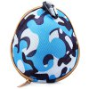 Camouflage Helmet Pattern Soft Material Key Money Bag Case with Metal Buckle for sale