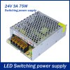 cheap 75W 3A DC 24V Output Switching Power Supply Transformer for LED Strip Light