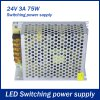 best 75W 3A DC 24V Output Switching Power Supply Transformer for LED Strip Light