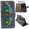 Buy 10PU Leather Phone Protective Cover Stand Card Holder Owl Pattern Design iPhone 6 Plus - 5.5 inches