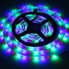 cheap 5 Meters 24W 300 SMD 3528 LEDs IP65 Water Resistant LED RGB Strip Light Set ( 12V 5A )