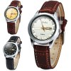 cheap Yulan 2836L Soft Leather Band Quartz Watch with Date Day Function for Ladies
