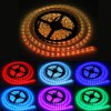 5 Meters 72W 300 SMD 5050 LEDs RGB Ribbon Light IP65 Water Resistant DIY Strip Lamp Kit  -  12V 5A