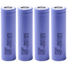 ICR18650 - 28A 3.7V 18650 2800mAh Rechargeable Lithium - ion Battery - 4 pcs