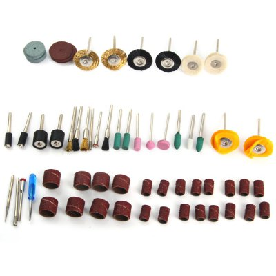 WL - 70PCS New Electric Grinding Accessories Kit