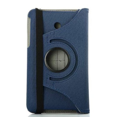 Гаджет   Rotatable PU Leather Cloth Pattern Card Slot Stand Full Body Case for Asus MeMO Pad 7 Tablet PCs