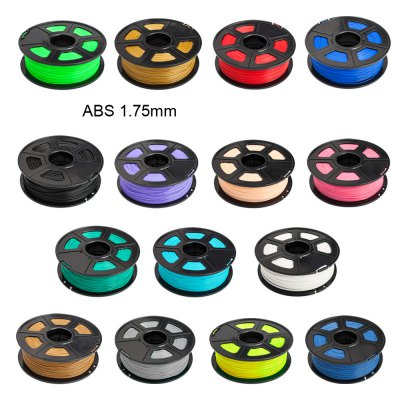Sunlu 3D Printer Filament ABS 1.75mm Supplies Makerbot  -  400m