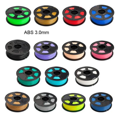 Sunlu 3D Printer Filament ABS 3.0mm Supplies Makerbot  -  135m