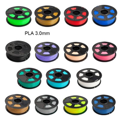 Sunlu 3D Printer Filament PLA 3.0mm Supplies Makerbot  -  115m