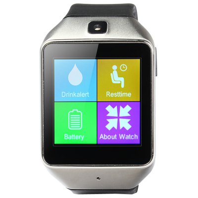 ФОТО ZF12 Infrared Smart Bluetooth 3.0 Watch Camera Sedentary / Sleep / Drinking Water Reminder
