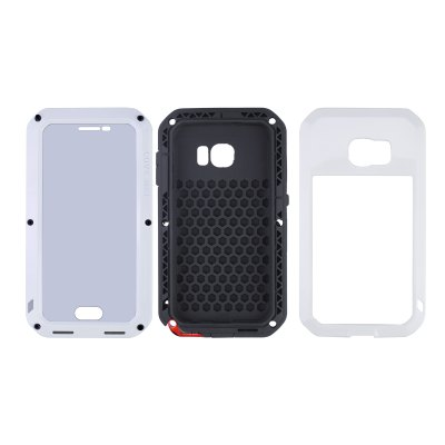 Гаджет   LOVE MEI Shockproof Waterproof Case Aluminium Alloy Phone Cover for Samsung Galaxy S6 G9200 Samsung Cases/Covers