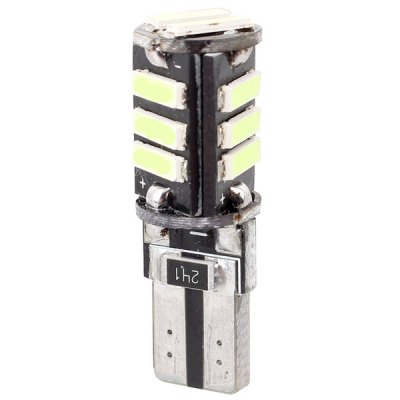 MZ T10  -  7020  -  11pcs SMD 5.5W 12V 660LM LED Decode Car Clearance License Plate / Steering LampCar Lights<br>MZ T10  -  7020  -  11pcs SMD 5.5W 12V 660LM LED Decode Car Clearance License Plate / Steering Lamp<br><br>Brand: MZ<br>Model  : T10-7020-11SMD<br>Type   : Clearance Lights, License Plate Lights, Width Light<br>Connector: T10<br>LED/Bulb quantity: 11pcs<br>Emitting color : Ice Blue, Pink, Red, Blue, Green, Yellow, White<br>Voltage : 12V<br>Lumens: 660 Lumens<br>Adaptable automobile mode : Universal Use<br>Type of lamp-house : LED<br>Apply lamp position: External Lights<br>Product weight   : 0.003 kg<br>Package weight   : 0.025 kg<br>Product size (L x W x H)  : 3.10 x 1.10 x 1.10 cm / 1.22 x 0.43 x 0.43 inches<br>Package size (L x W x H)  : 12.00 x 8.00 x 2.00 cm / 4.72 x 3.14 x 0.79 inches<br>Package Contents: 1 x T10 Connector LED Car Clearance Lamp