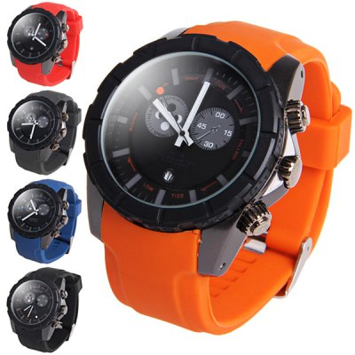 ФОТО Shhors 80079 Rotational Bezel Male Quartz Watch 30M Water Resistance